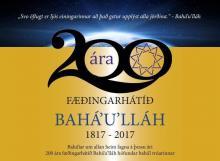 200 ár frá fæðingu Bahá'u'lláh